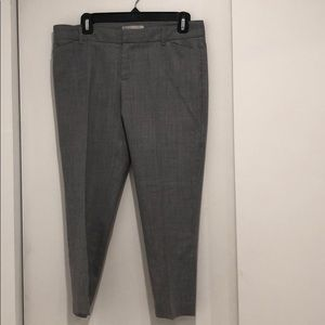 GAP Capri dress Pants Gray 4p